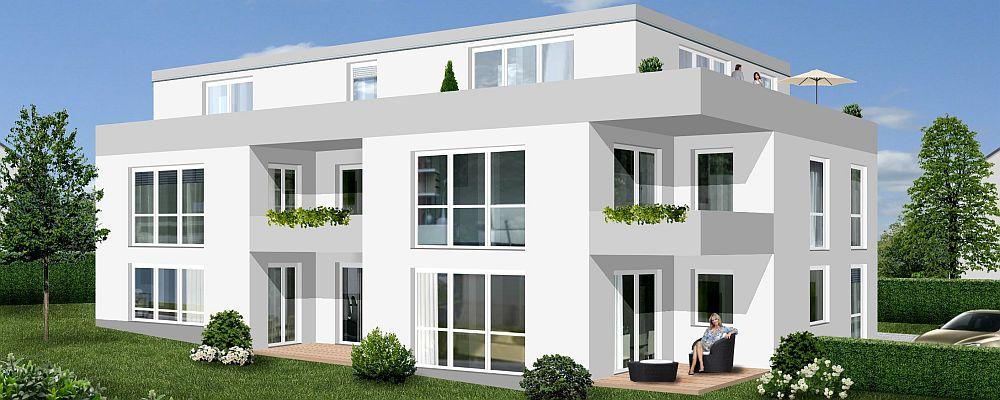 Mehrfamilienwohnhaus mit 5 Einheiten kfw55 (Fertigstellung 2017)